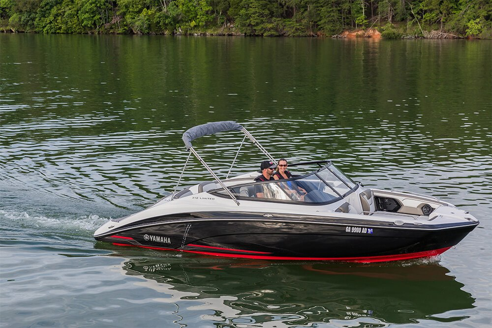 yamaha boats 212 limited 2018 black red lake bayside jet For2018 Yamaha Jet Boat