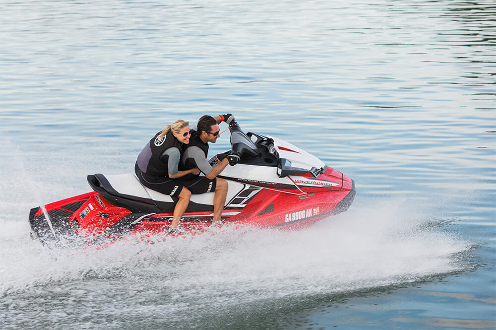 Yamaha waverunners 2018 fx svho red turning speed for 2018 yamaha jet boat