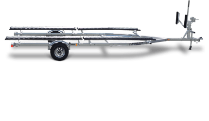 Load Rite Galvanized Single & Triaxle Pontoon & Tritoon Models