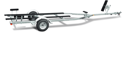 Load Rite Galvanized Single Axle Skiff/Jon