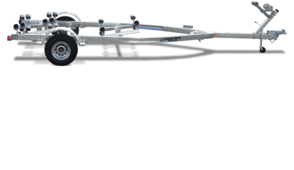 5 Starr Galvanized Single Axle Roller