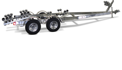 5 Starr Galvanized Single Axle Bunk