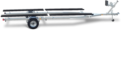 Load Rite Galvanized Single & Tandem Axle EP Freshwater Pontoon