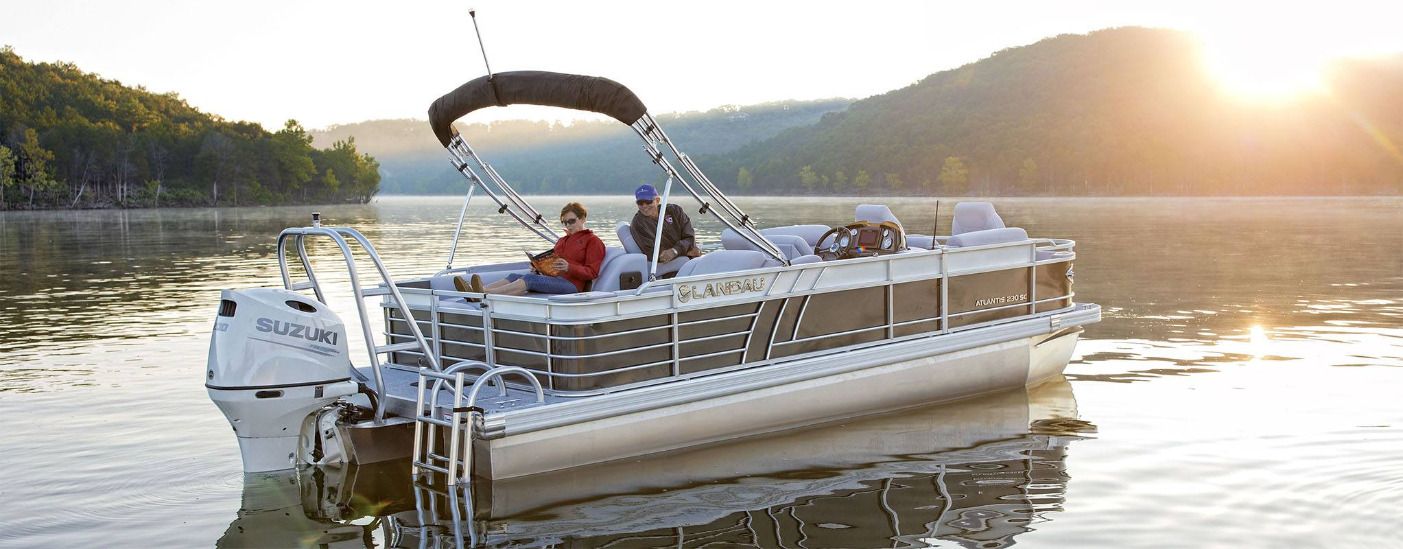Luxury Pontoon Boats