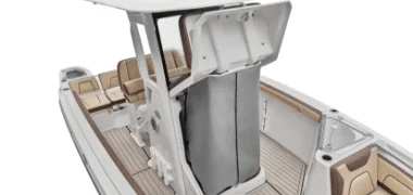 Center Console Storage Area